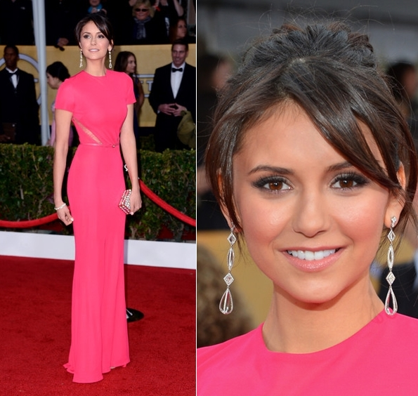 nina-dobrev-2013-screen-actors-guild-awards-elie-saab-dress