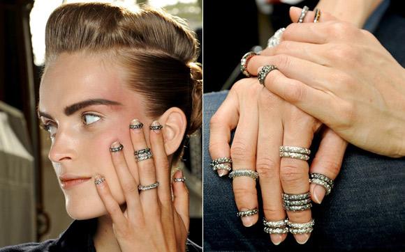 Modelo da Chanel